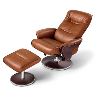 Fabulous Dirleton Manual Swivel Recliner With Ottoman Gamerscity Chair Design For Home Gamerscityorg