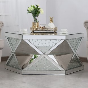 Aarush Mirrored Coffee Table