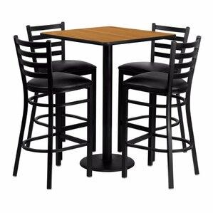 Pinckneyville 5 Piece Pub Table Set by Red Barrel Studio
