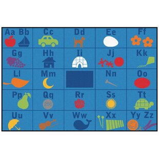 Bargain Value Plus Alphabet Seating Area Rug By Carpets for Kids