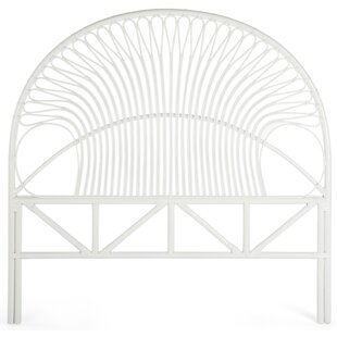 Bayou Breeze Deloris Rattan Headboard