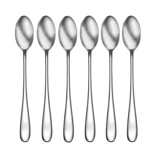 Buyer Star 4-piece Silver Long Handle Bar Spoons 12-Inch Stainless Steel Cocktail Stirring Spoons Mixing Spoons Long Ice Tea spoon Bar Accessoriess