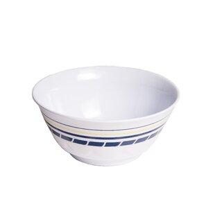 Ariya 20 oz. Melamine Non-Skid Soup/Cereal Bowl