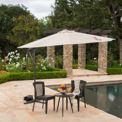 Jaelynn 9.5 Cantilever Umbrella by Longshore Tides 2020 Coupon