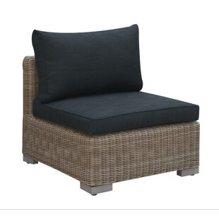 Harvey Outdoor Armless Chair with Cushion