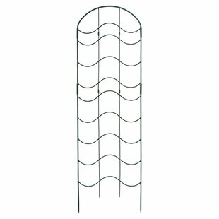 ACHLA Waves Iron Arched Trellis