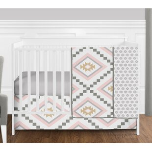 Affordable Aztec 4 Piece Crib Bedding Set BySweet Jojo Designs