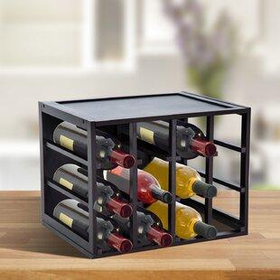 Fredericktown 12 Bottle Tabletop Wine Bottle Rack