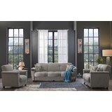 Hertog 3 Piece Sleeper Living Room Set by Red Barrel Studio®