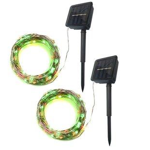 The Holiday Aisle Kamps 33 ft. 100-Light Novelty String Lights (Set of 2)
