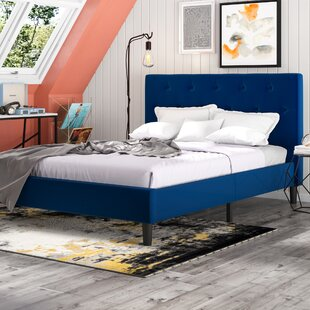 Bravo Upholstered Platform Bed Frame
