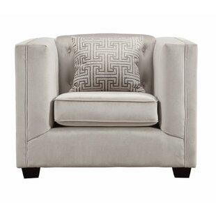 Darby Home Co Elbridge Stylishly Tufted Armchair
