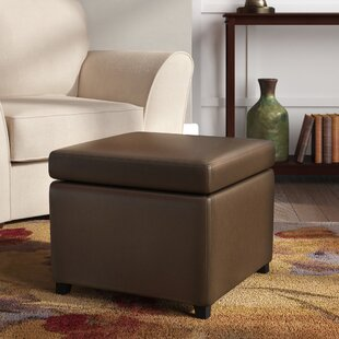 Lucrezia Cube Storage Ottoman by Andover Mills