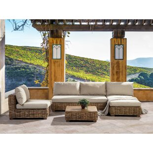 Worthland 4 Seater Rattan Sofa Set Image