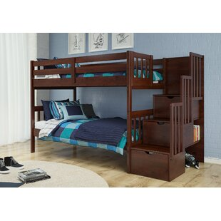 Vao Stairway Twin Over Twin Bunk Bed