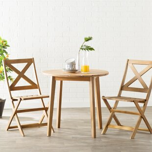 Mercury Row Donoho 3 Piece Bistro Set