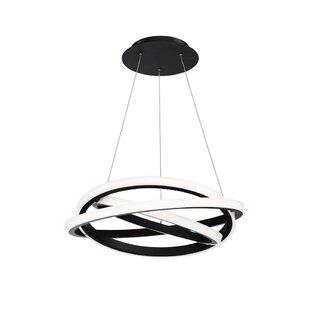 Veloce 1-Light LED Geometric Chandelier by Modern Forms