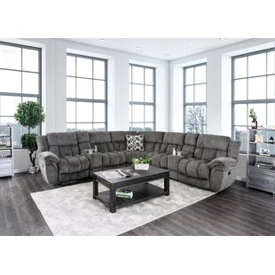 Shop Buckman Reclining Sectional by Red Barrel Studio