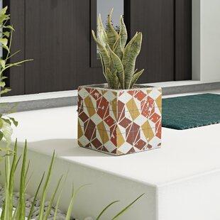 Ruiz Leaves Ceramic Pot Planter By Wrought Studio