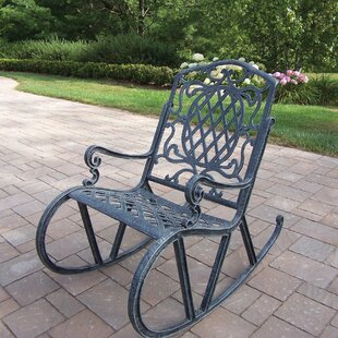 Superbe Wrought Iron Rocking Chairs | Wayfair