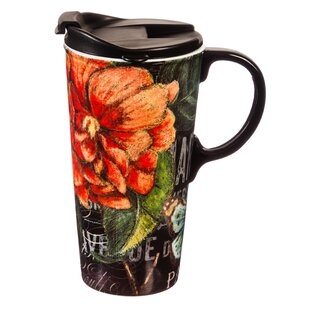 Kayleigh Chalk Floral Travel Mug