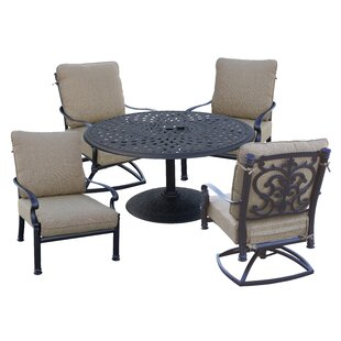 Palazzo Sasso 5 Piece Conversation Set with Cushions