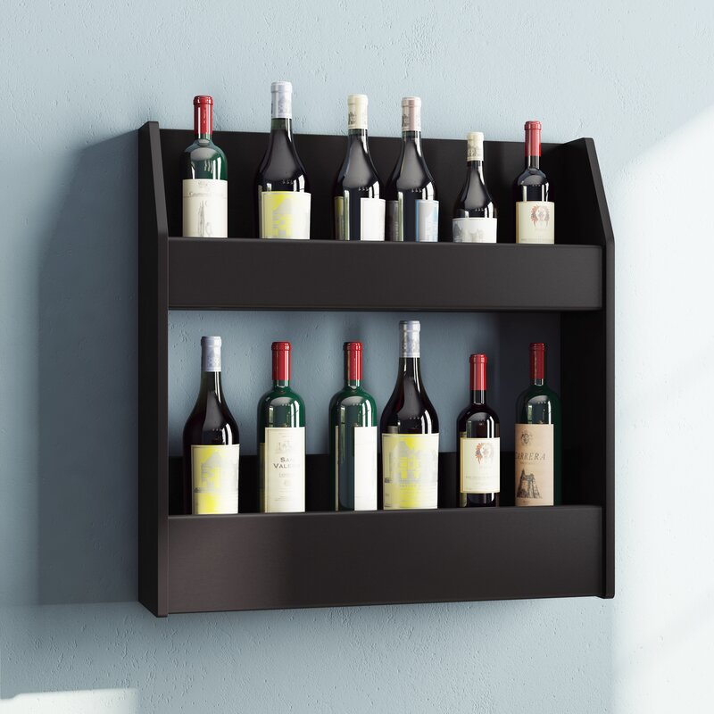 Chancey 24 Bottle Wall Mounted Wine Rack & Reviews | AllModern