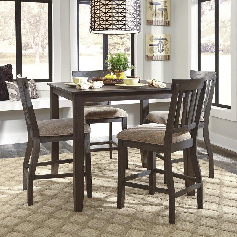 loon peak rainier counter height dining table & reviews | wayfair
