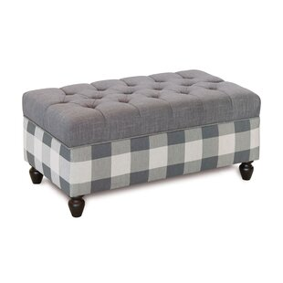 Eastern Accents Fabric Storage Bench