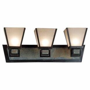 Best Price Clean Slate 3-Light Vanity Light By Wildon Home ®