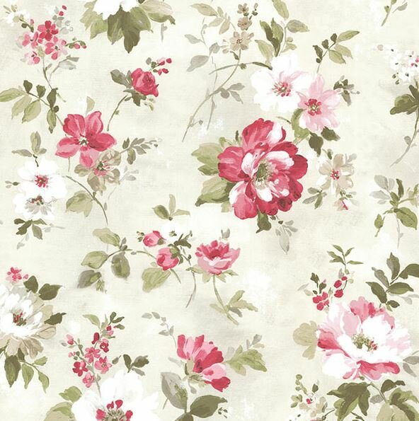 Brewster Home Fashions Rosemore 33 X 20 5 Amalia Garden 3d Embossed Wallpaper Wayfair
