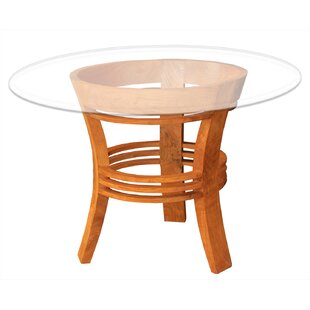 Chic Teak Half Moon Dining Table
