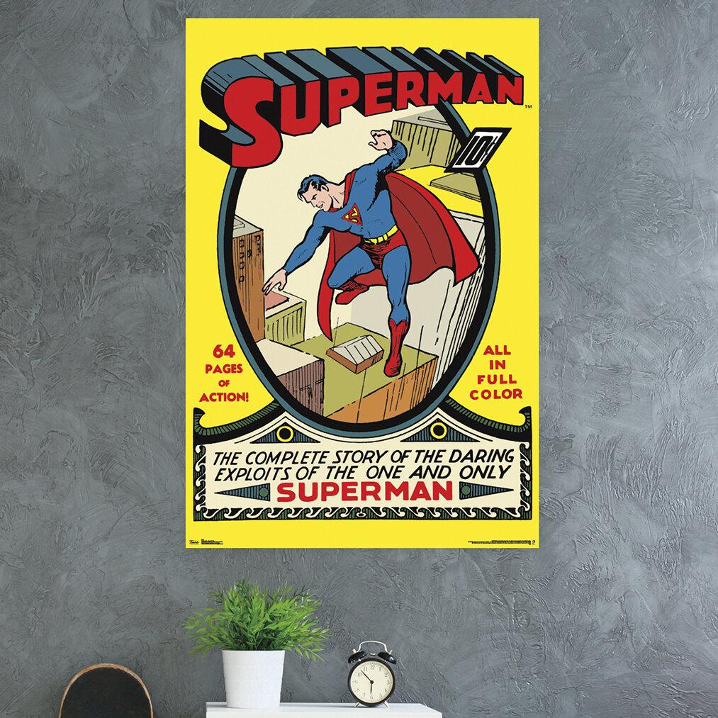 Superman photographic print /'Man of Girders/'