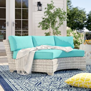 Falmouth Patio Sofa with Cushions (Set of 2) by Sol 72 Outdoor
