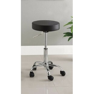 Lauderhill Stylish Space Saving Adjustable Height Swivel Bar Stool