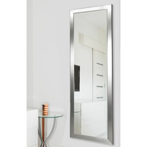 Wall Mounted Full Length Mirror floor mirrors you'll love | wayfair