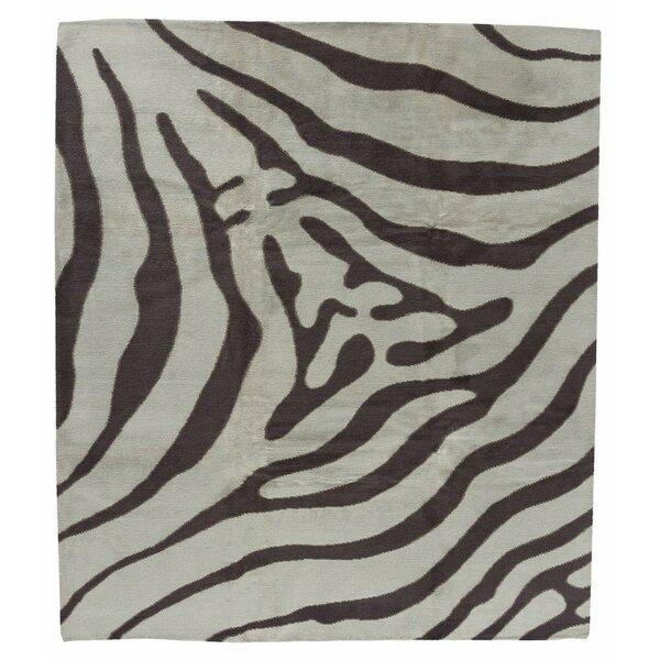 Brown Zebra Print Rug Wayfair