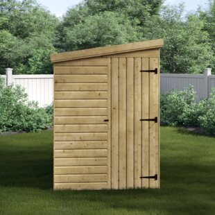 Kearse 5 Ft. W X 8 Ft. D Shiplap Pent Wooden Shed By Sol 72 Outdoor