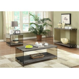 Affordable Price Stehle 3 Piece Coffee Table Set ByMillwood Pines