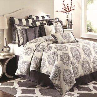 Michael Amini Reversible Comforter Set by Michael Amini