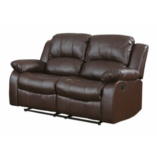 Shop Leather Reclining Sofa by Madison Home USA