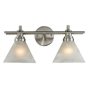 Charlton Home Jonquil 2-Light Vanity Light