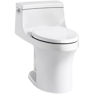 Affordable San Souci Souci Comfort Height 1.28 GPF Elongated One-Piece Toilet ByKohler