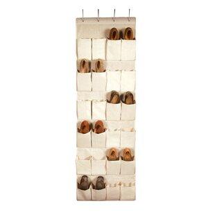Richards Homewares Nature of Storage 24-Pocket 12 Pair Hanging Shoe Organizer