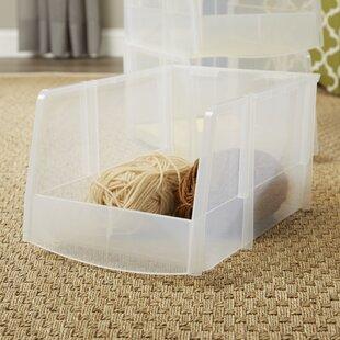 Compare prices Wayfair Basics Plastic Stacking Bins (Set of 6) ByWayfair Basics™