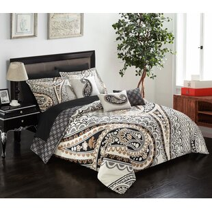 Darby Home Co Amini 10 Piece Reversible Comforter Set