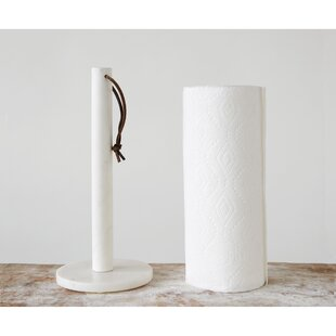 Marble Free-Standing Paper Towel Holder by Gracie Oaks Best