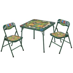 Kids 3 Piece Writing Table and Chair Set by Idea Nuova