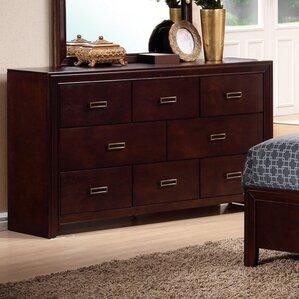 Otago Dresser in Dark Oak by New Spec Inc