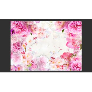 Blooming June 2.80m x 400cm Wallpaper by East Urban Home